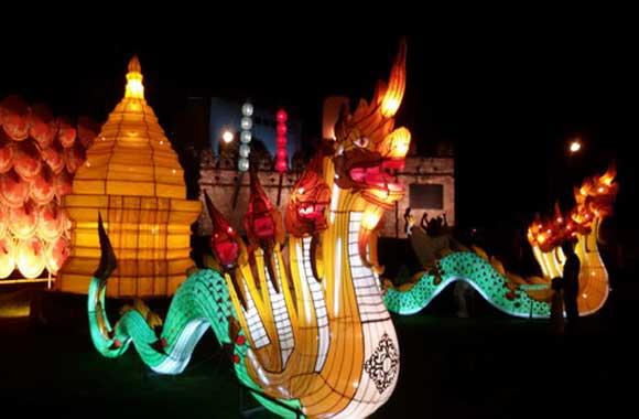 Lamp-Lanna-Naga